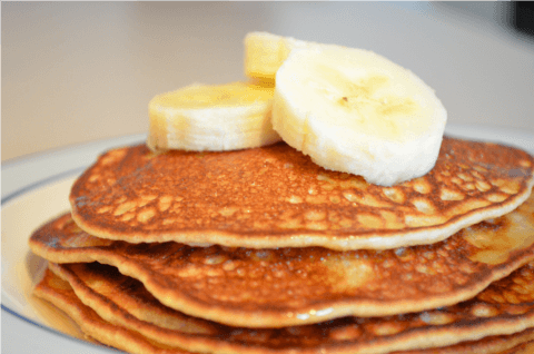 3-Ingredient Banana Pancakes