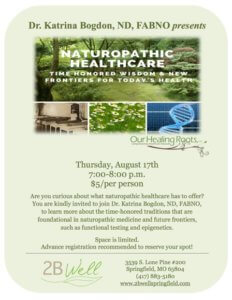 naturopathic healthcare