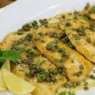 Healthy Chicken Piccata and Sauce