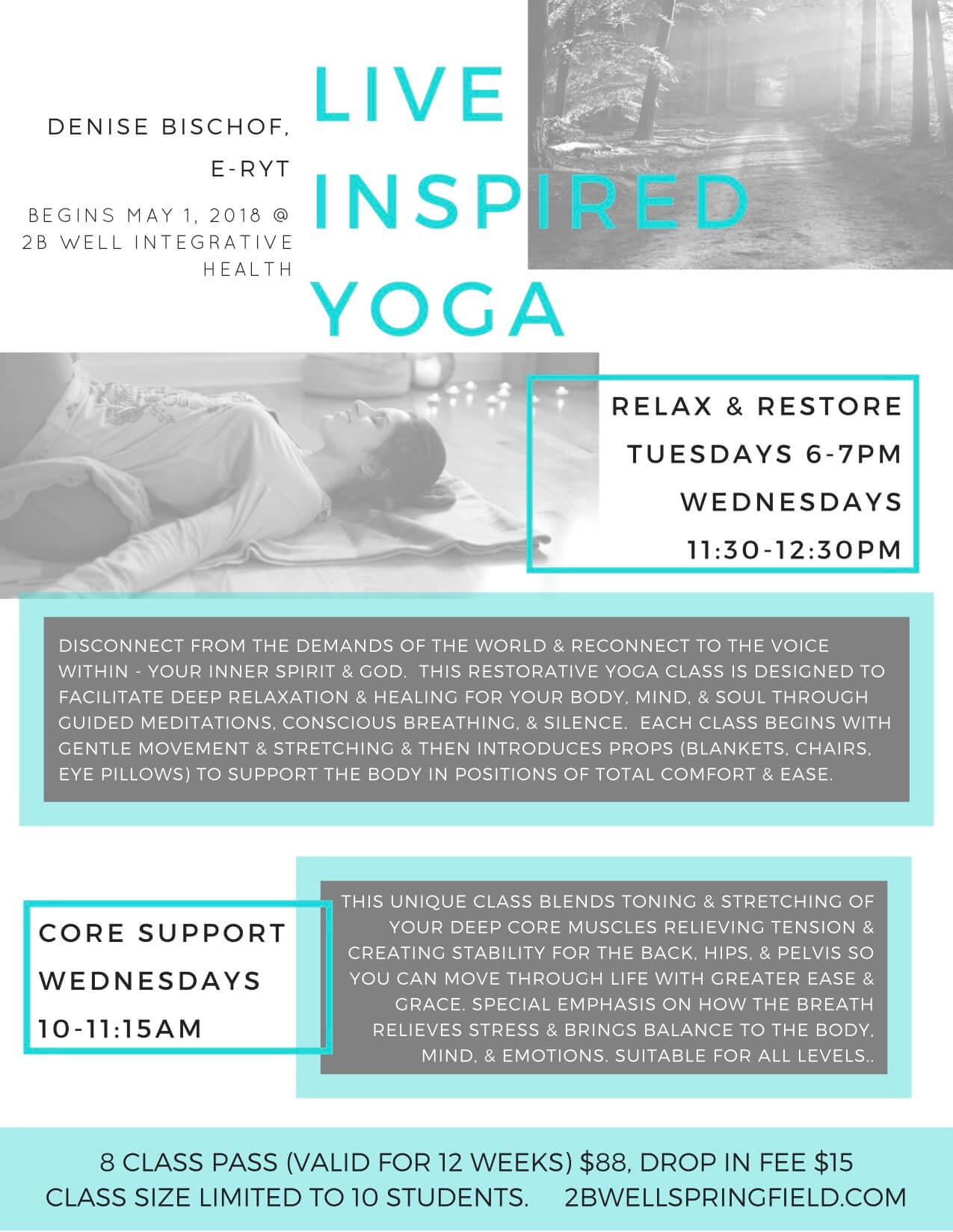 restorative yoga Springfield mo
