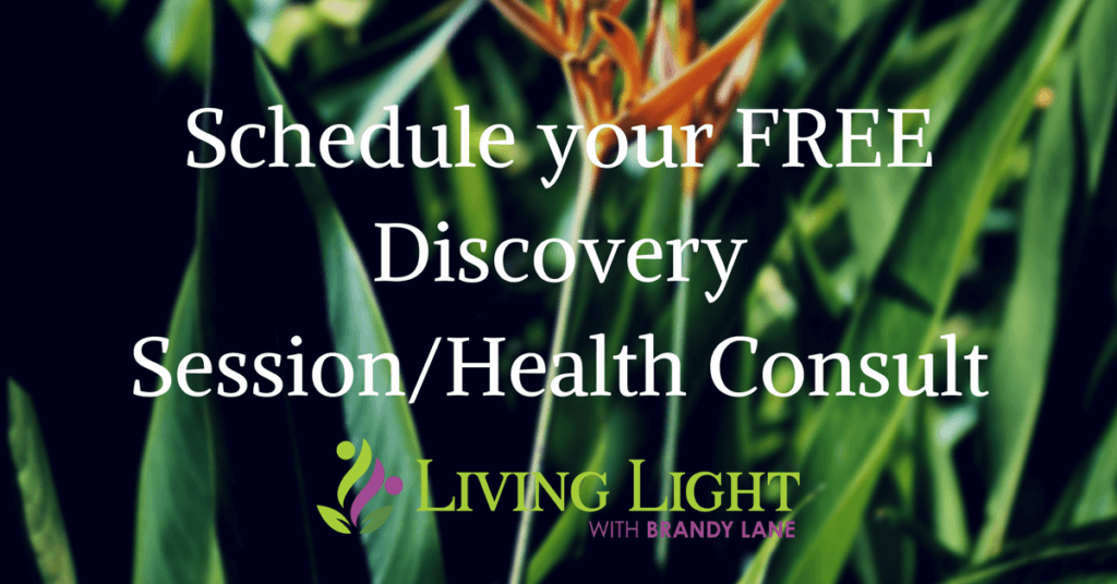 Schedule your FREE Discovery Session/Health Consult