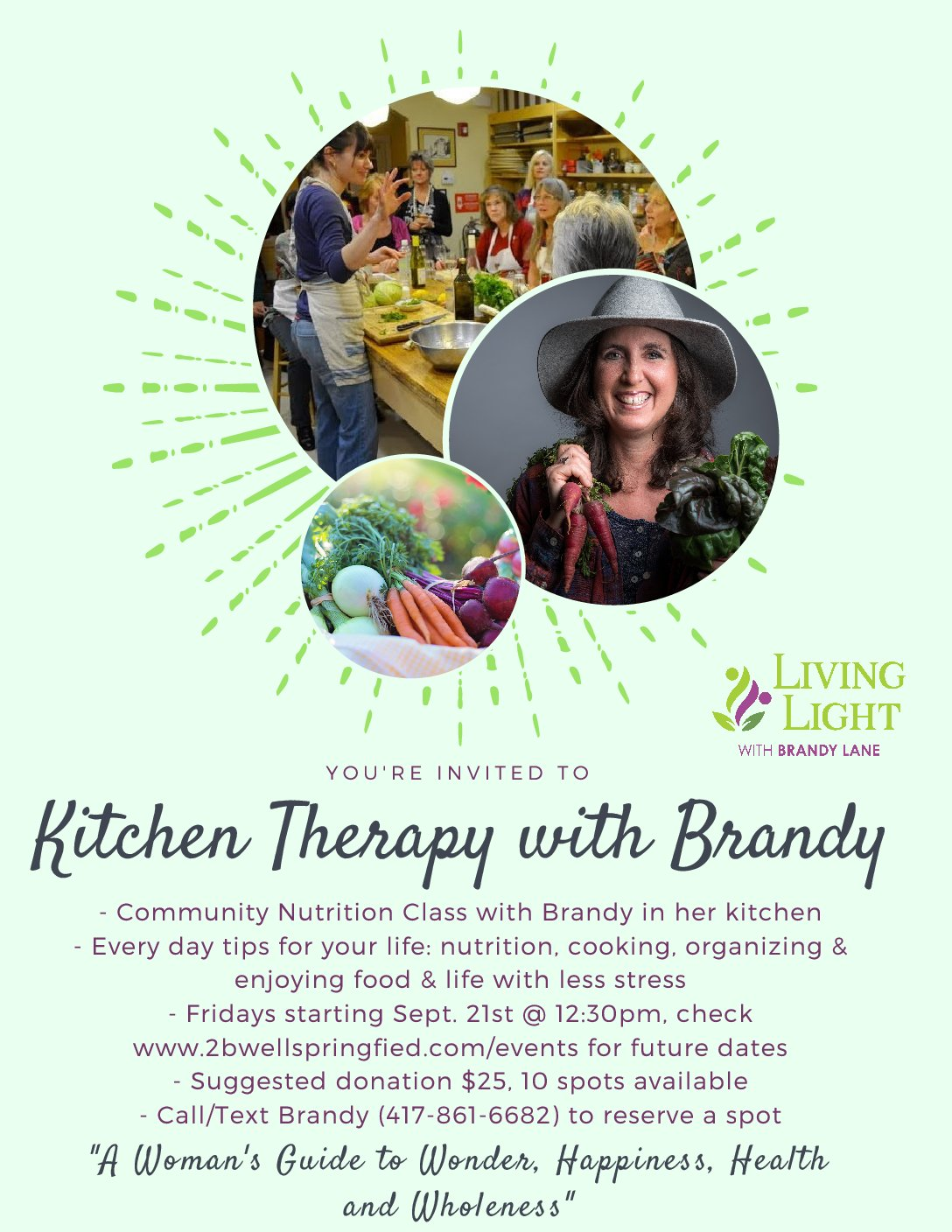 Kitchen Therapy with Brandy