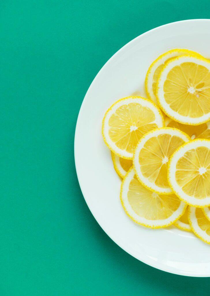 morning lemon water